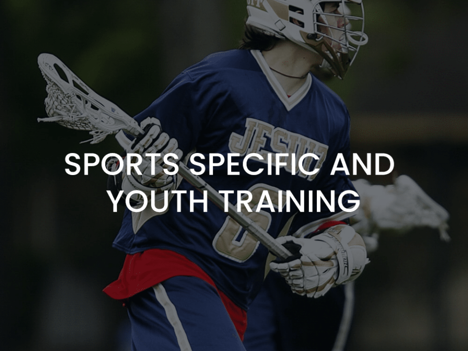 sports specific and youth training